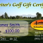 Riverside/Bluff Gift Certificates