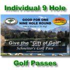 9 Hole Golf Pass