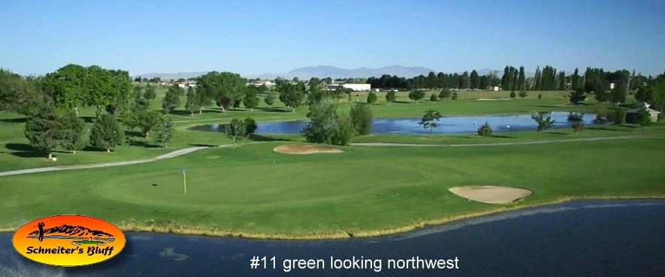2013 960 X 400 Bluff Banner of #11 Green looking northwest